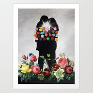 Art Print featuring Soulmates by Eugenia Loli