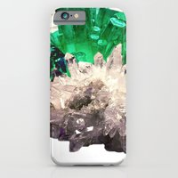iPhone & iPod Case featuring Crystal Visions by NikkiMaths