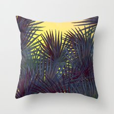 Warm In the Jungle Throw Pillow