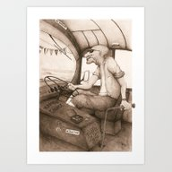The King Of The Road (Re… Art Print