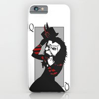 iPhone & iPod Case featuring Courting the Crimson Queen  by notchildfriendly