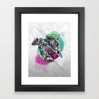 Le Tigre Framed Art Print