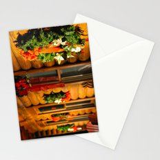 Log Cabin Christmas Stationery Cards
