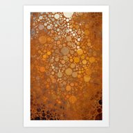 Art Print featuring Autumn Atmosphere -- Abs… by V. Sanderson / Chick…