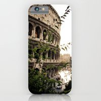 iPhone & iPod Case featuring the collosseum by charlotte townsend-rahman