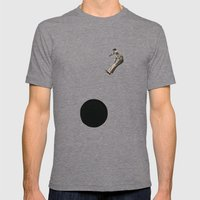 Into Abyss Mens Fitted Tee Tri-Grey SMALL