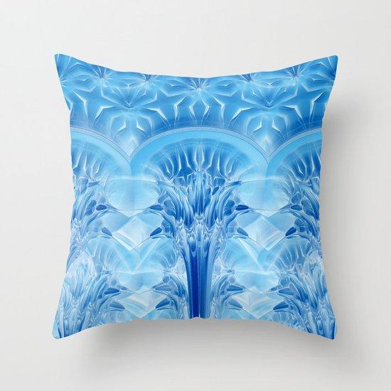 Ice Palace Throw Pillow