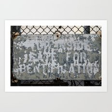 Gate No. 4 Art Print