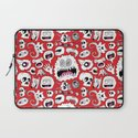 Another Monster Pattern Laptop Sleeve