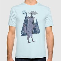 COYOTE Mens Fitted Tee Light Blue SMALL
