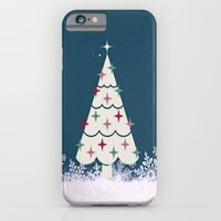 iPhone & iPod Case featuring Holiday Tree by Laura Santeler