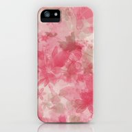 Pink Flowers iPhone (5, 5s) Slim Case