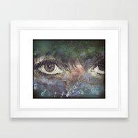 Goddess Complex-ion Framed Art Print