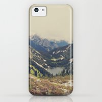 iPhone 5c Cases featuring Mountain Flowers by Kurt Rahn