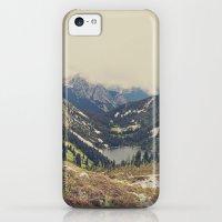 iPhone 5c Cases featuring Mountain Flowers by Kurt Rahn