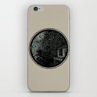 Miniature Circle Landsca… iPhone & iPod Skin