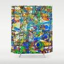 Joy (Goldberg Variations #14) Shower Curtain