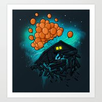 TAKE ME AWAY Art Print
