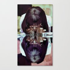Adrenaline? 'Mia Wallace… Canvas Print