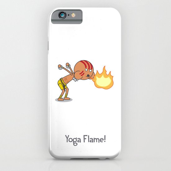 Yoga Flame! iPhone & iPod Case