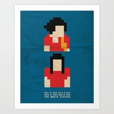 Fell In Love With a Girl Art Print