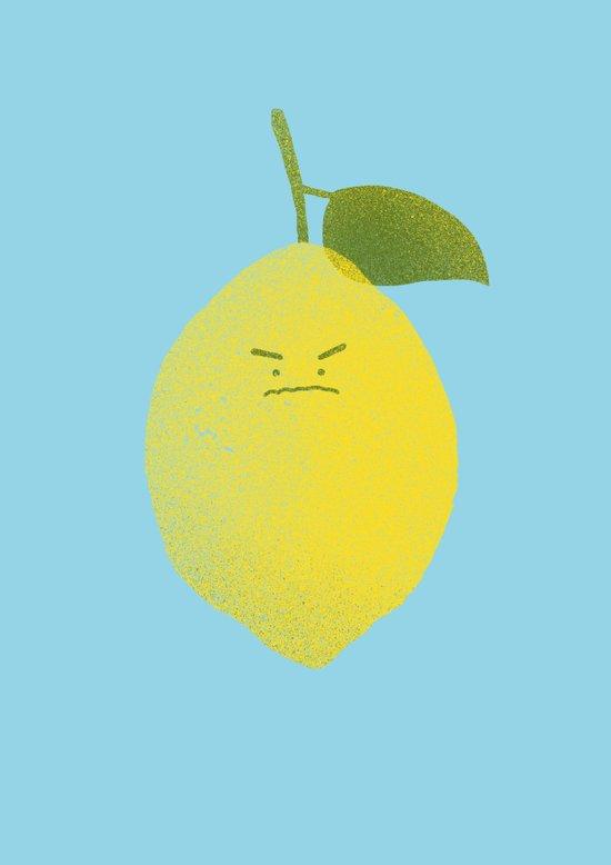 Bitter Lemon Art Print