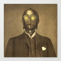 Baron Von Three PO  Canvas Print
