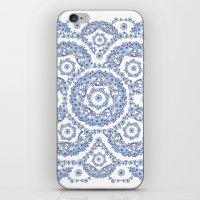 Blue Rhapsody II iPhone & iPod Skin