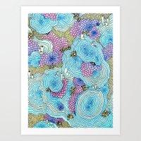 Reef #3 Art Print