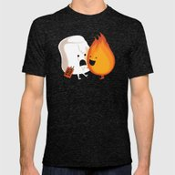 Friendly Fire Mens Fitted Tee Tri-Black SMALL