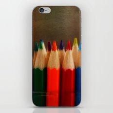 Rainbow Crayons iPhone & iPod Skin