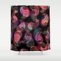Anushka Paisley {#1c} Shower Curtain