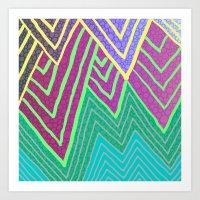 Bubbz Art Print