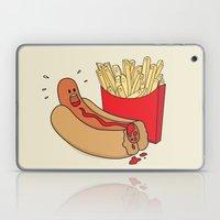 Fast Food Massacre Laptop & iPad Skin