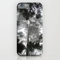 iPhone & iPod Case featuring Ghosts in the Trees by Lauren Carter
