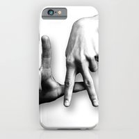 los angeles iPhone & iPod Cases featuring Los Angeles by big tony