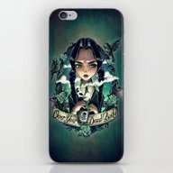 OVER YOUR DEAD BODY iPhone & iPod Skin