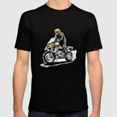 BMW 1200 GS SMALL Black Mens Fitted Tee