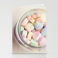 JAR OF LOVE Stationery Cards