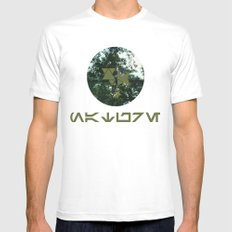 Nature Mens Fitted Tee SMALL White