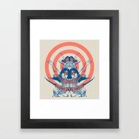 Space Ritual Framed Art Print