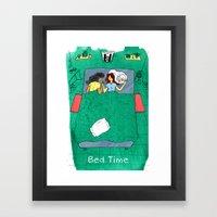 Bed Time #03 Framed Art Print