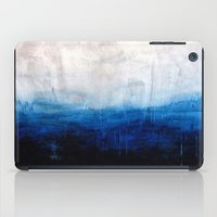 All good things are wild and free - Ocean Ombre Painting iPad Case