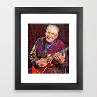 Les Paul  Framed Art Print