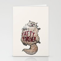 Fatty Forever Stationery Cards