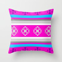 Dusky Moon Throw Pillow