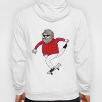 On how to overcome certain obstacles while skateboarding Hoody