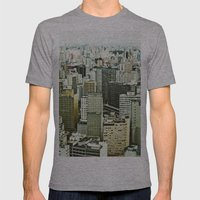 Sao Paulo Mens Fitted Tee Athletic Grey SMALL