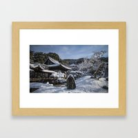 Kyoto Winter 2015 V (Kod… Framed Art Print