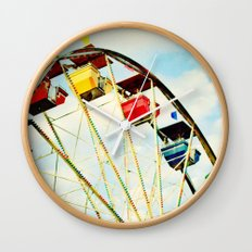 round and round we go Wall Clock